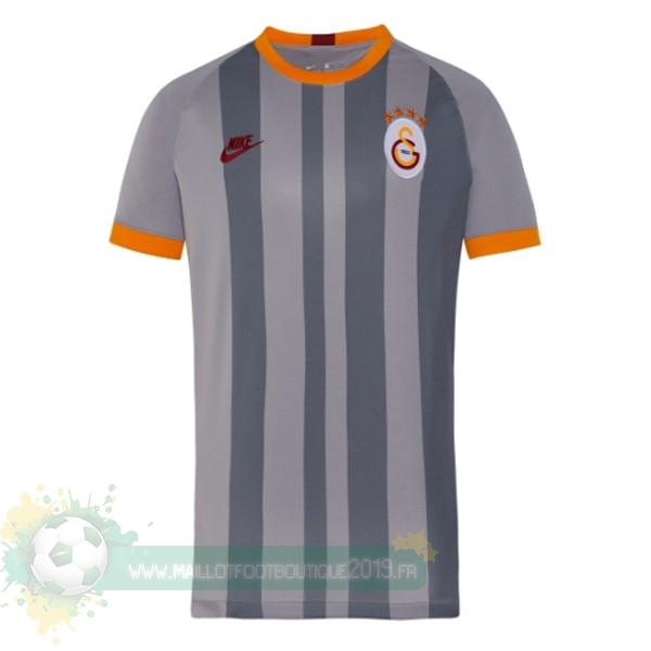 Maillot De Foot Personnalisé Pas Cher Nike Third Maillot Galatasaray SK 2019 2020 Gris