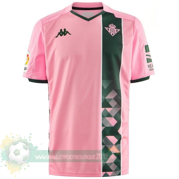 Maillot De Foot Personnalisé Pas Cher Kappa Third Maillot Real Betis 2019 2020 Rose